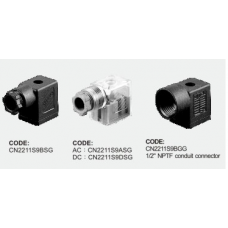 Shako Solenoid Connector 40-17-06