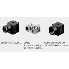 Shako Solenoid Connector 40-17-07